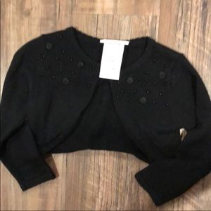 Other - Black crop cardigan